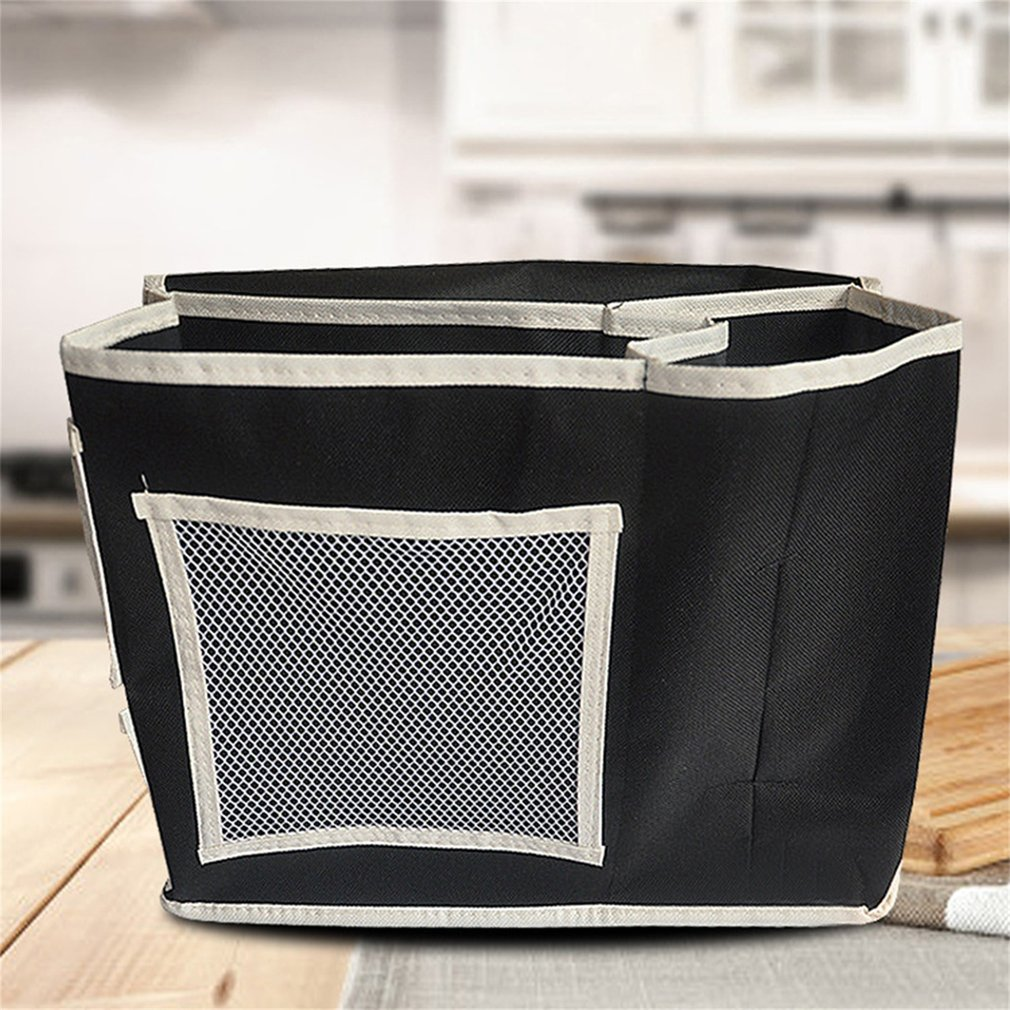 Household Bed Sofa Hanging Storage Bag With Six Pockets For Home Organizing