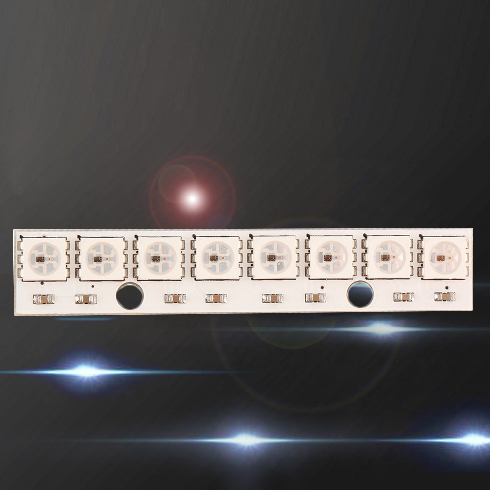 WS2812 5050 RGB Built-in LED 8 Colorful LED Module for Arduino