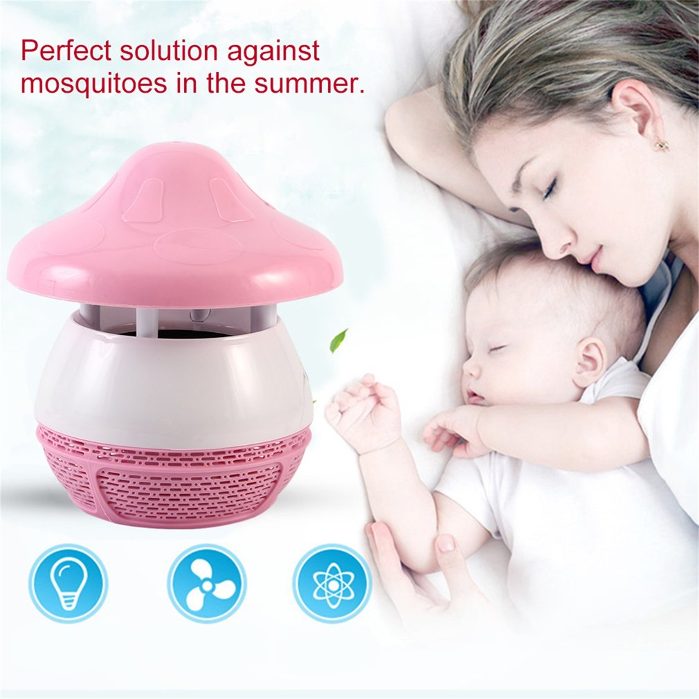 Unique LED Umbrella Electric Household Insect Traps Mosquito Killing Lamp