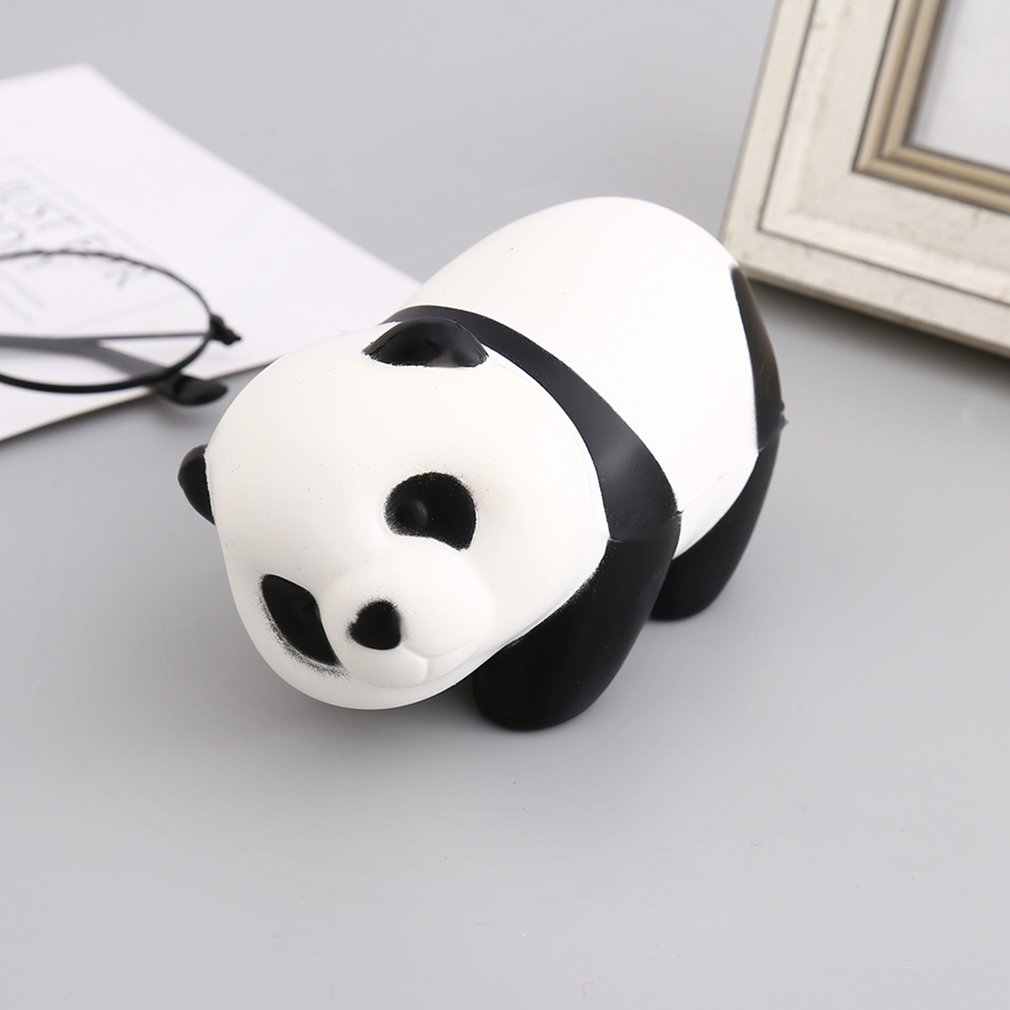 Kawaii Cute Animal Panda Shape Slow Rising Toy Decompression Anti-Stress Toys