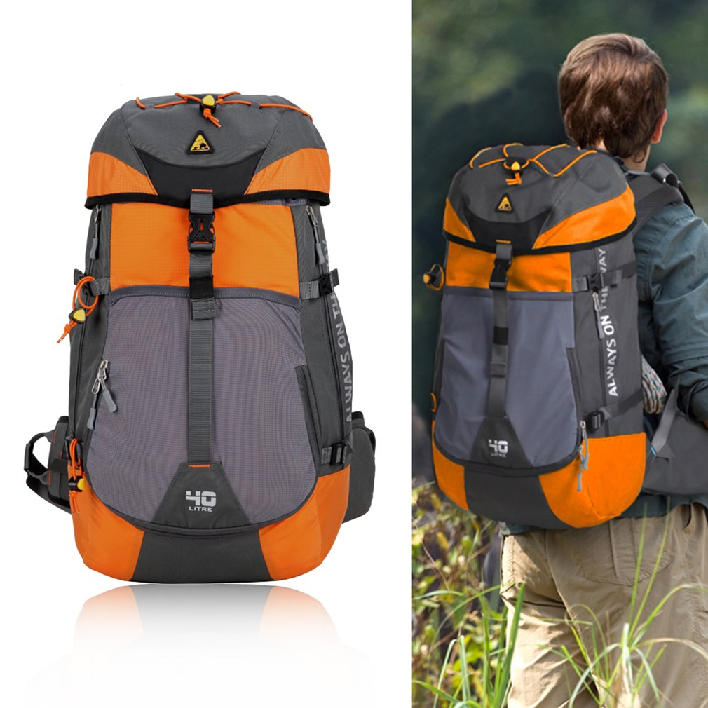 Large Capacity Mountaineering Backpack For Camping Hiking Climbing Backpacking