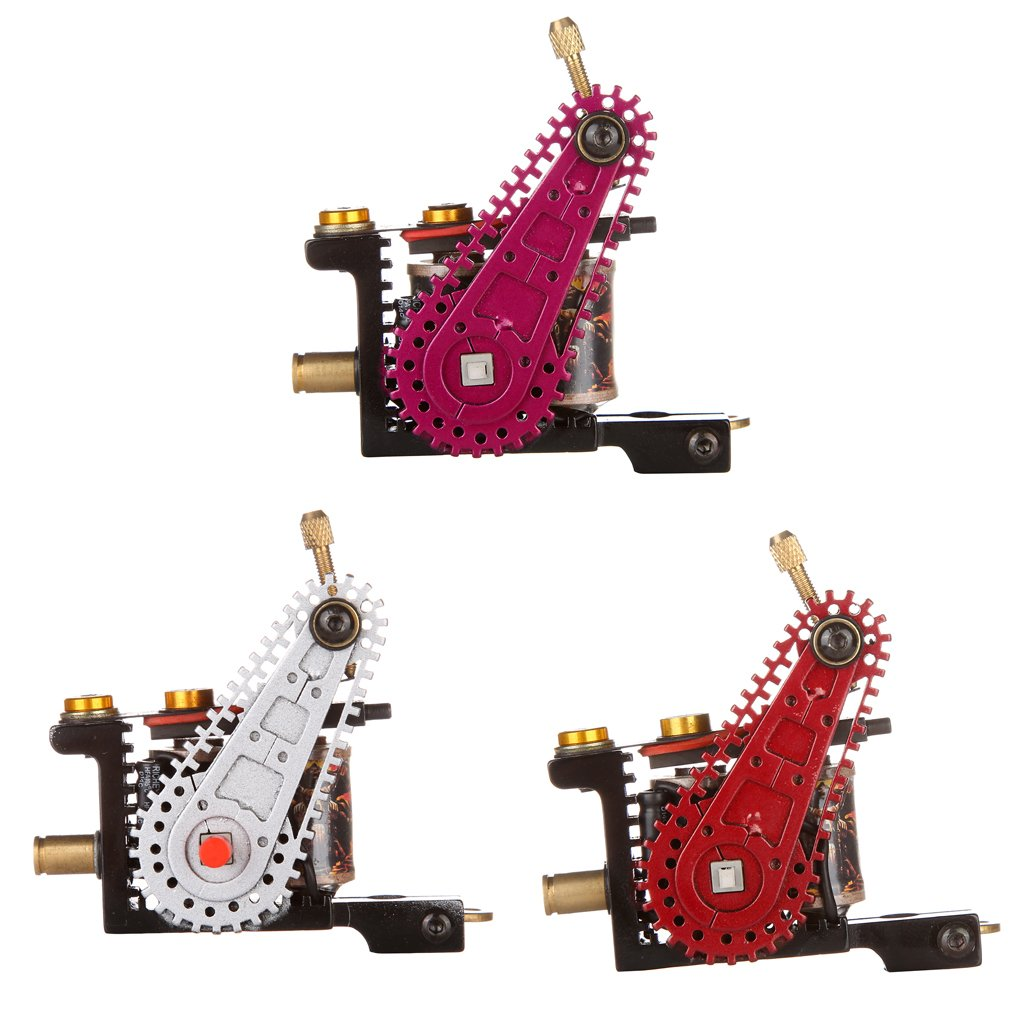 Automatic Low-Vibration Frame Liner/Shader A4 Iron Wire-cutting Tattoo Machine