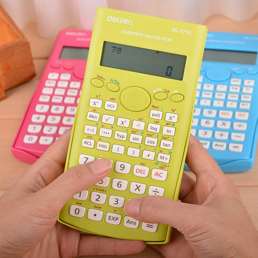 Deli 1710A Desktop Calculator 240 Kinds Function Scientific Calculator