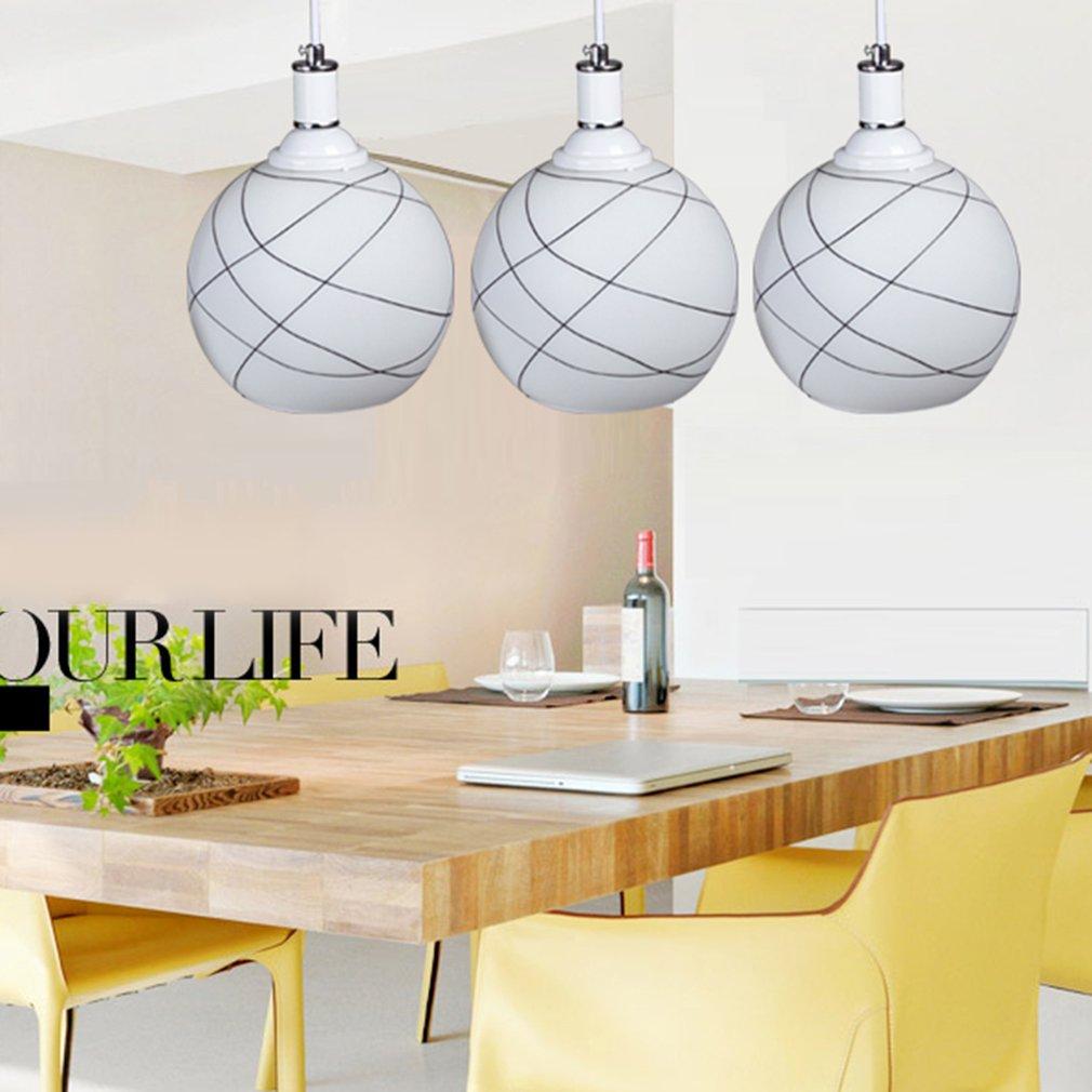 FCD50130 3 Lampshade Restaurant Dining Room LED Hanging Modern Ceiling Lights