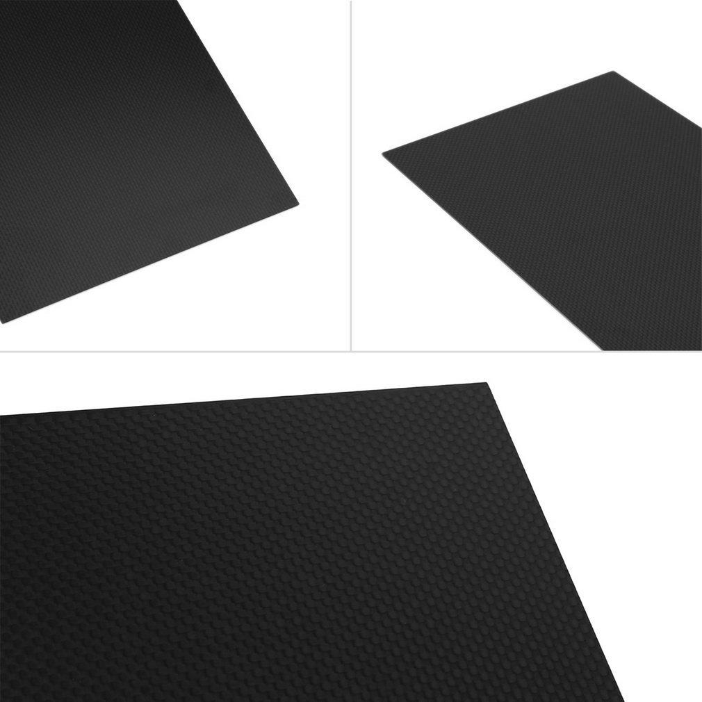 300*200*1.5mm Full Carbon Fiber Plate Panel Sheet Plain Weave Matt Surface