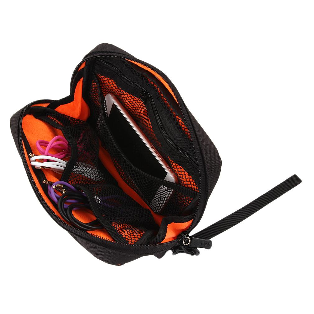 Digital Style Man Women Makeup Bag Cosmetics Storage Bag Case Organizer TEE093