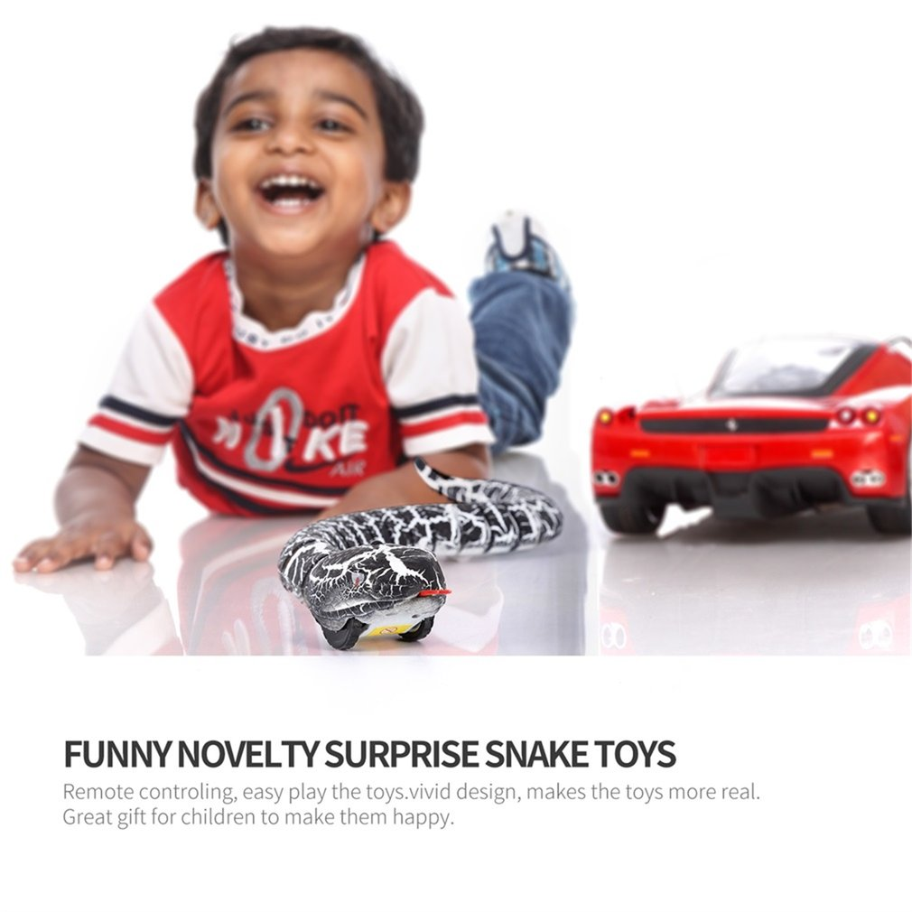 Novelty Surprise Jokes Remote Control Snake And Egg Radio Control Toy For Kids