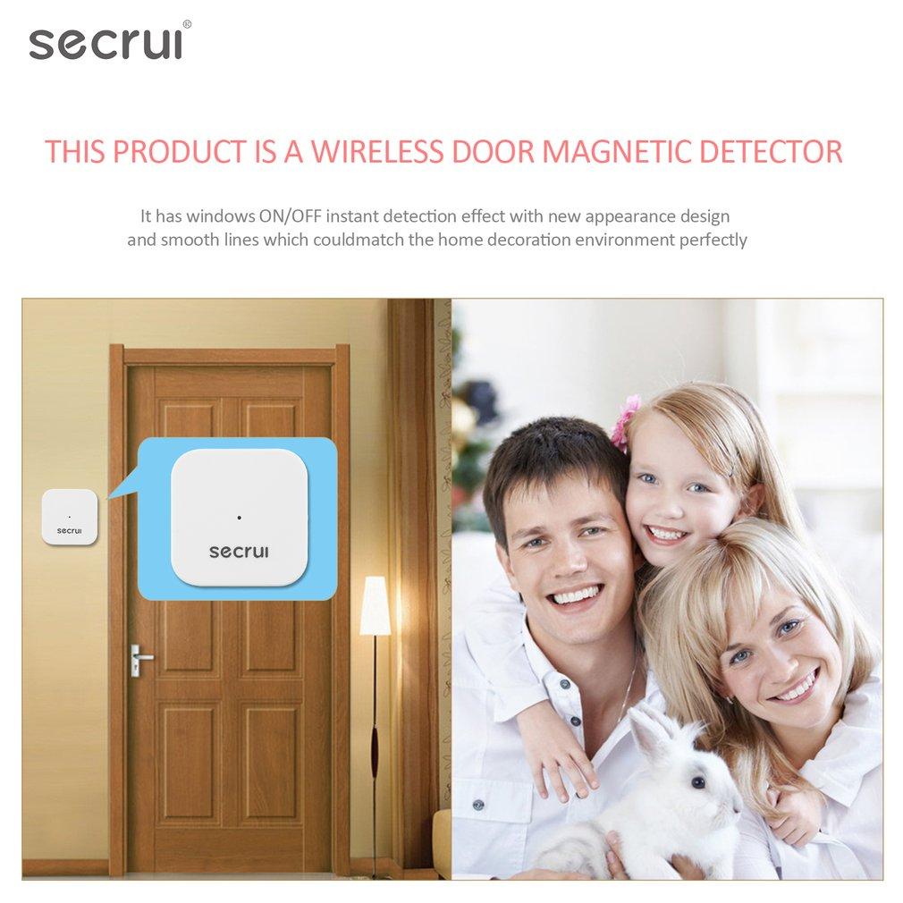 D028 Window Door Magnet Sensor Detector Portable Anti-Tamper Burglar Alarm